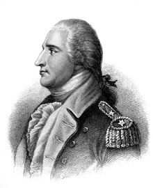 French Engraving of Benedict Arnold