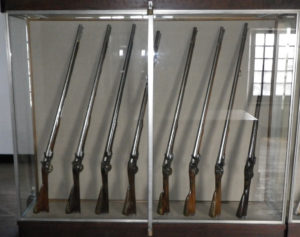 Musket display
