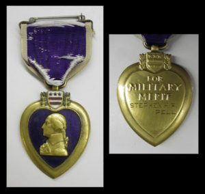 Stephen Pell's Purple Hearth medal