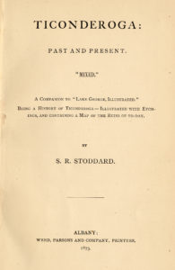 Ticonderoga: Past and Present book title page