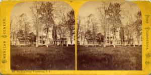Photograph of the Fort Ticonderoga Hotel