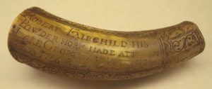 Robert Fairchild's powder horn
