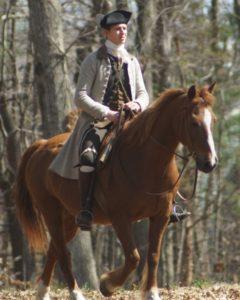 New England horseman