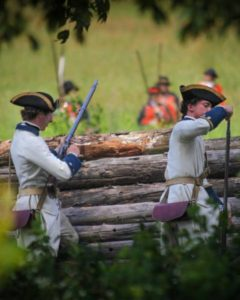 The French Lines of the July 8th, 1758 battle are famous, but what survives today is the work of Americans in 1776.