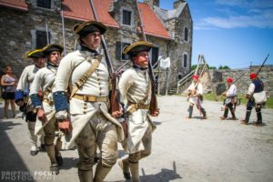 Montcalm's Cross Battle Re-enactment