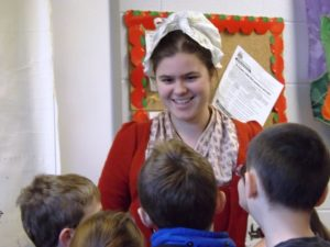 Fort Ticonderoga Museum Staff engaged more than 800 fourth grade students through Outreach Programs during the current school year.