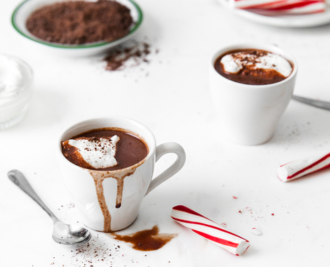 Peppermint Sipping Chocolate
