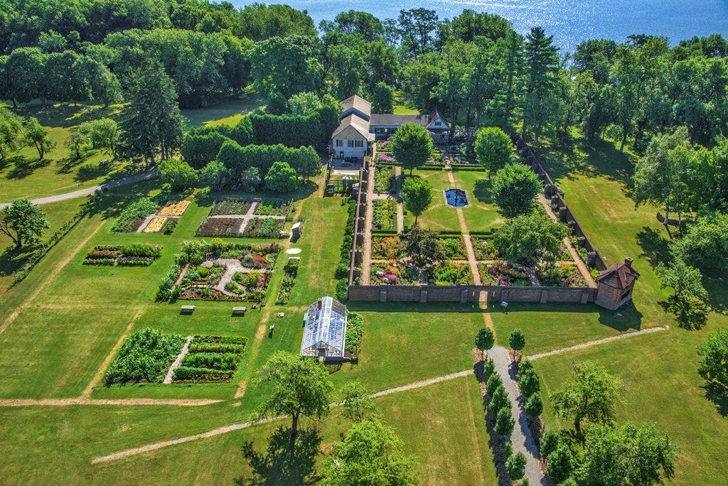 Shoreline Buffer Garden, Fort Ticonderoga NY