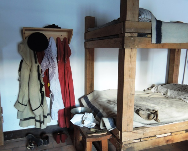 Two 'Berths' beds stacked together as bunks