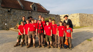 Boy Scouts at Fort Ticonderoga