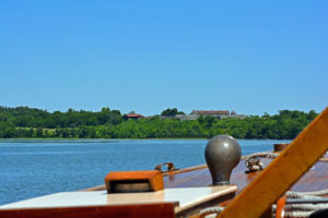 Fort Ticonderoga from Carillon boat