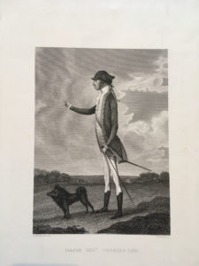 Charles Lee with dog