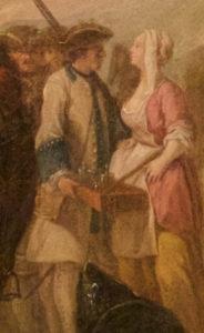 1748 Royal Roussillon Regiment uniform detail