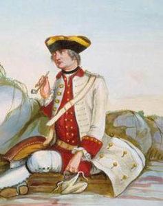 1757 Berry Regiment uniform detail