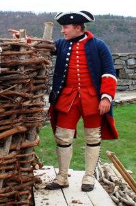 Cannoniers/Bombardiers uniform detail