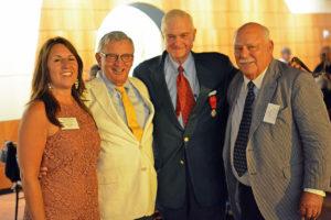 Fort Ticonderoga awarded Peter S. Paine, Jr. the Marquis de Montcalm Award