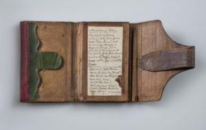 John Andre's pocketbook