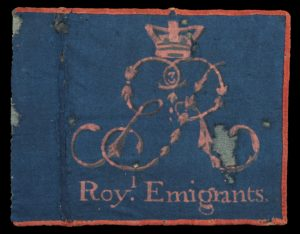 Rare Emigrants Flag part of Fort Ticonderoga Collection with support from grant