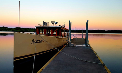http://Docked%20Carillion%20boat