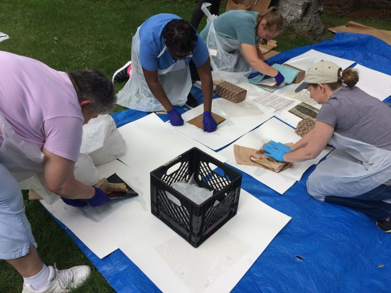 Museum staff training in disaster response and recovery