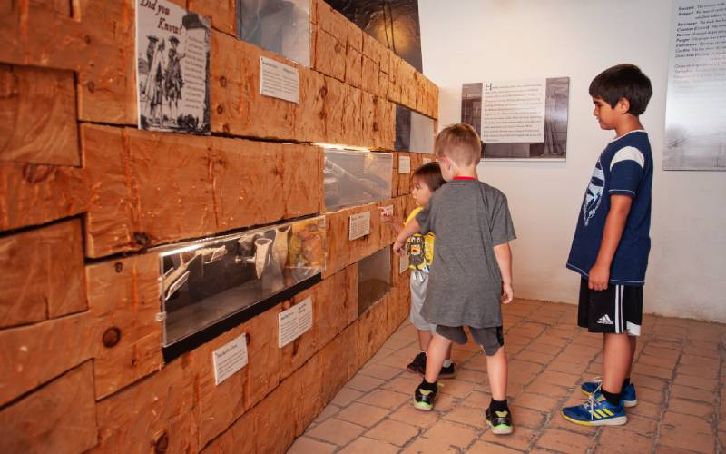 Iron & Stone Museum Exhibit
