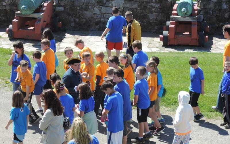 Field Trip at Fort Ticonderoga