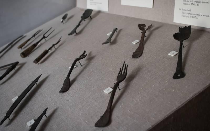 Pottery Museum Exhibit