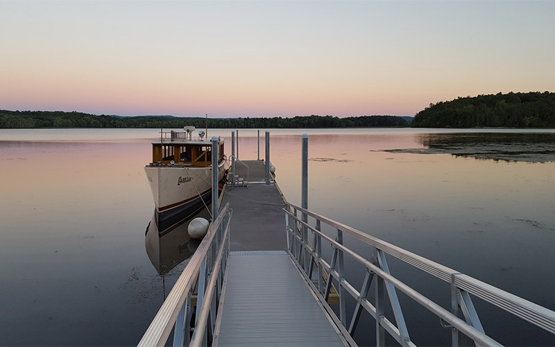 Carillon boat dock