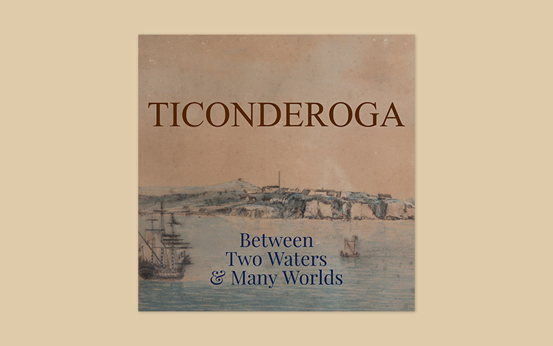 Ticonderoga book cover
