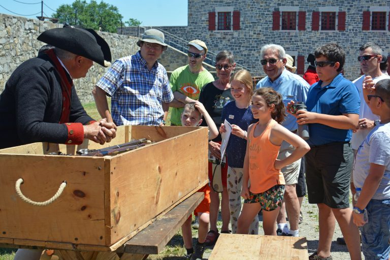 Search for Liberty hands-on activity during Independence Day celebration