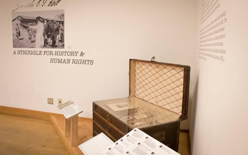 Sarah Pell Museum Exhibit