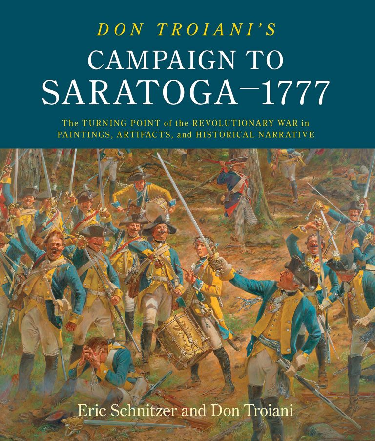 Campaign To Saratoga - 1777 book cover