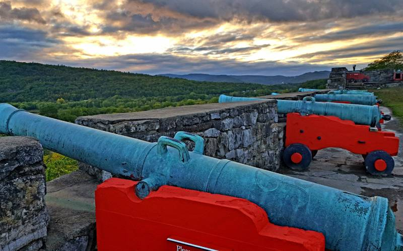 cannon at Fort Ticonderoga