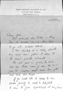 In this letter written by Sister Parish to John Pell in 1963, the interior designer draws attention to the challenge of maintaining a building that was only used for a few months out of the year. A lesson that use and maintenance are key parts of preservation.
