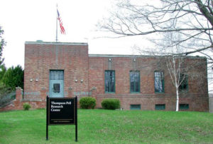The Thompson-Pell Research Center building was originally a New York Telephone Company building constructed between 1931-32 as the company's repeater station. Purchased by Fort Ticonderoga and renovated for offices in 1989-92, the building has survived with much of its original architecture intact. Today it is a significant example of an early telephone building that played an important role in the social and business life of the Adirondacks in the twentieth century.