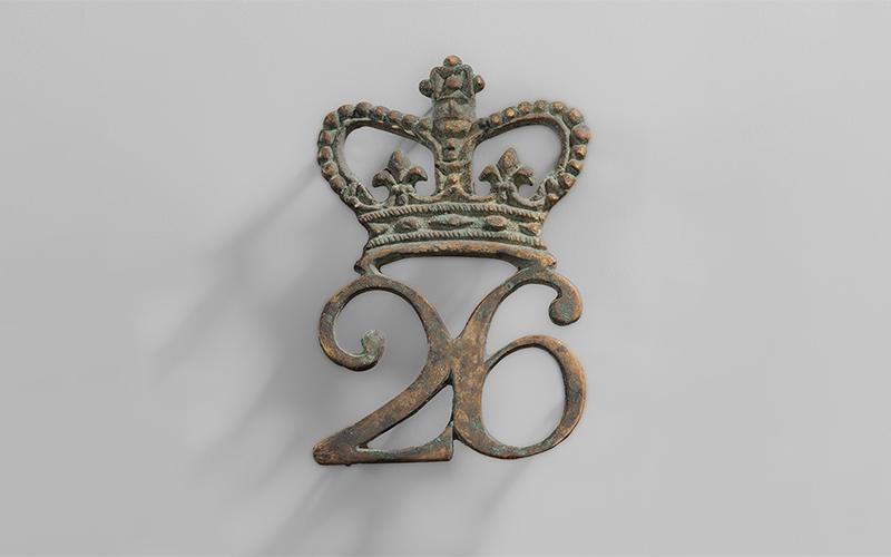 26th badge