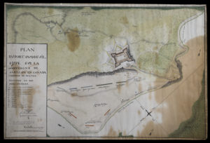 This copy of an 18th century plan of what was still called Fort Vaudreuil is the earliest known image of Lotbinière's most famous fortification.