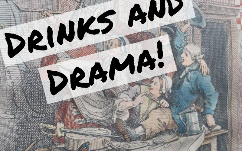 drinks and drama logo