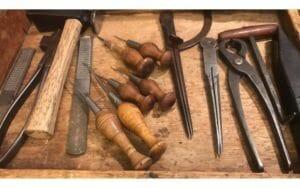 shoe making tools