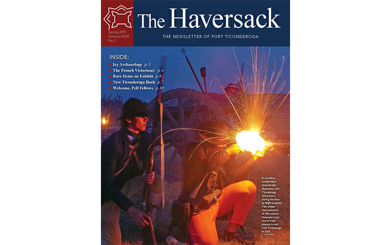 Spring Haversack cover of guns by night program