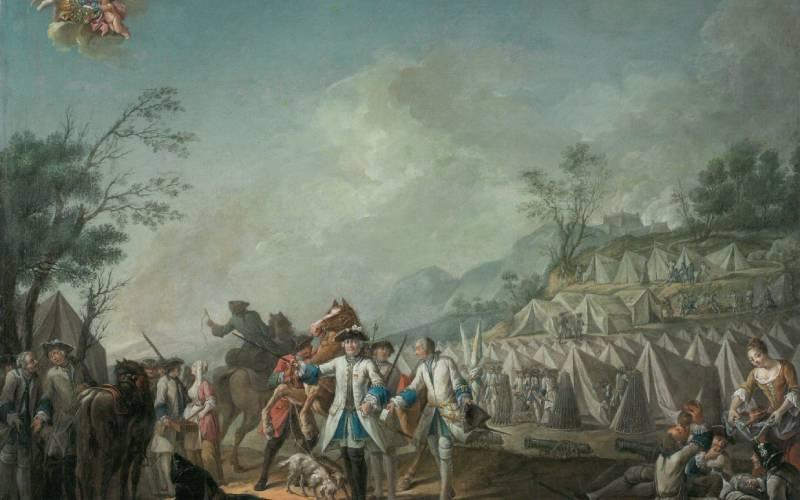 camp of the royal rousillon portrait