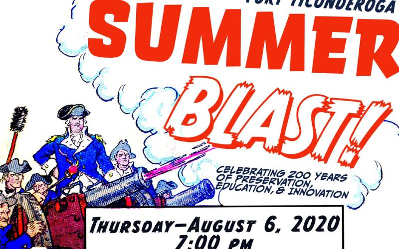 Fort Ticonderoga Summer Blast graphic