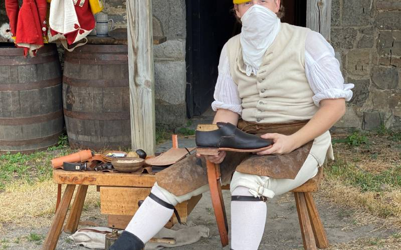 outdoor shoemaking