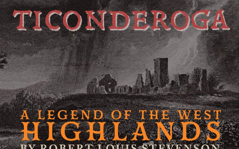 Ticonderoga: A Legend of the West Highlands book cover