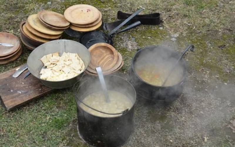 rations in 1776